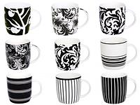 """Чашка """"Черное и белое"""" 360мл"""
