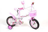 """Велосипед детский Hello Kitty 12"""""""