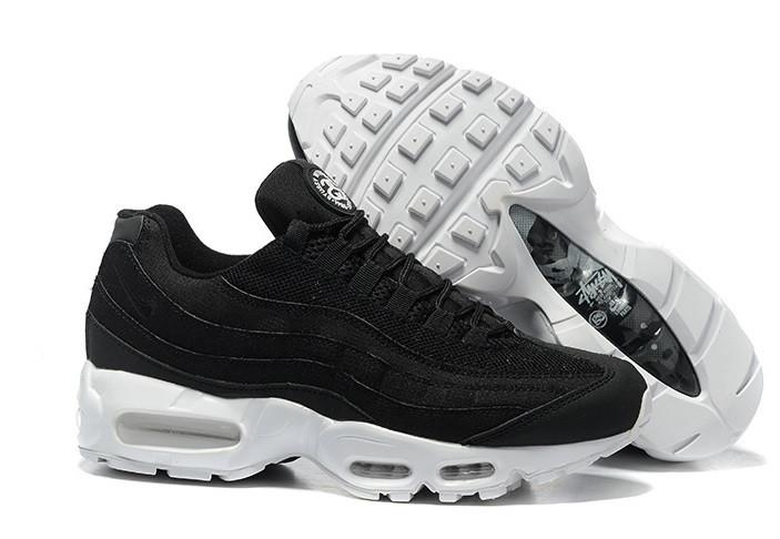Кроссовки Nike Air Max 95 Stussy Black White