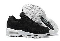 Кроссовки Nike Air Max 95 Stussy Black White, фото 1