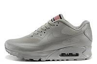 Мужские кроссовки Nike Air Max 90 Hyperfuse Ash Grey USA, фото 1