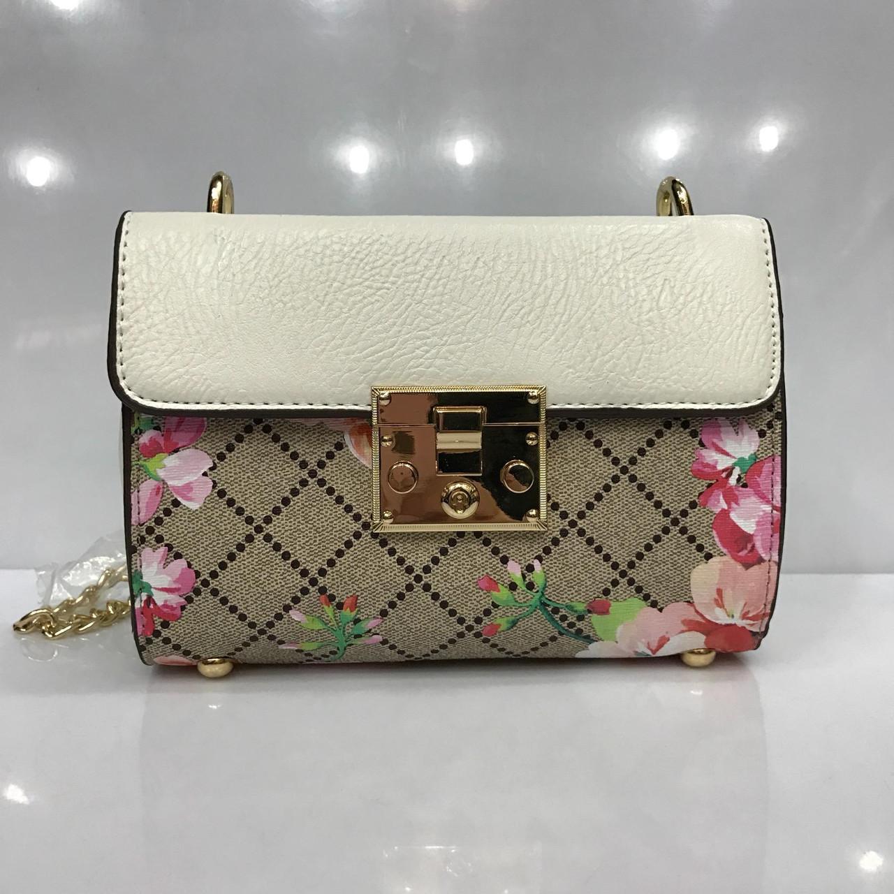 c1f845130f91 Женская летняя сумка из кожзаменителя на длинной ручке -цепочке ...