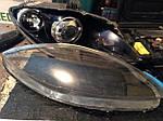 НАШИ РАБОТЫ: Seat Leon полировка стёкол фар с двух сторон