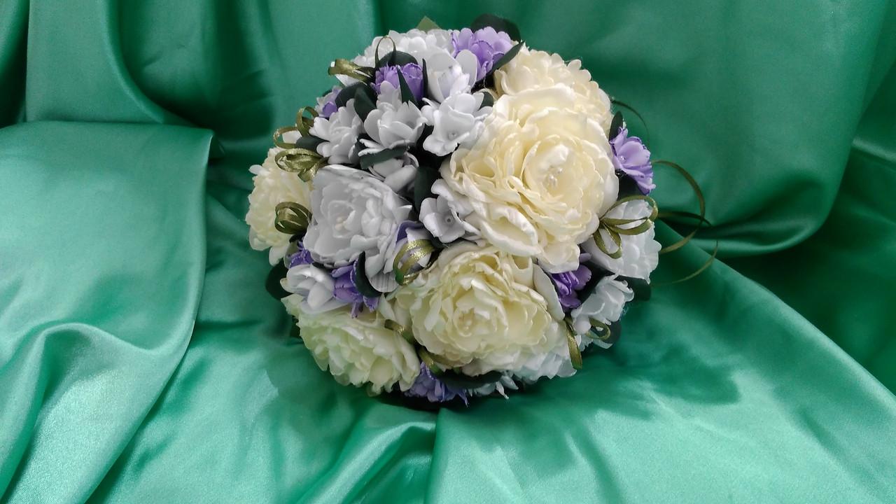Свадебный букет-дублер из пион