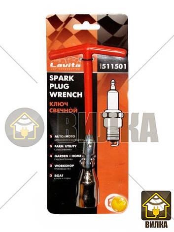 Ключ свечной с трубной головкой Lavita LA 511501, фото 2