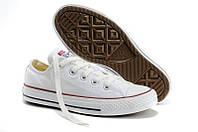 Кеды Converse All Star белые Replica