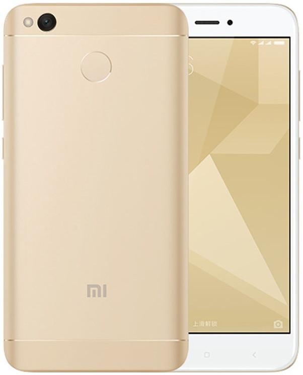 "Xiaomi Redmi 4X Gold 3/32 Gb, 5"", Snapdragon 435, 3G, 4G"