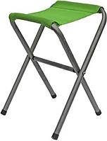 Складной стульчик ТЕ-024 MT: 24х27х38 см, стальной каркас, ткань, наконечники на ножках, зелёный