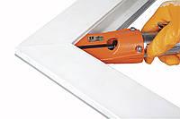 Станок для зачистки  внутренних угловых швов оконного профиля