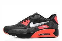 Мужские кроссовки Nike Air Max 90 Ultra BR Black Red, фото 1
