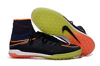 Футбольные сороконожки NIke HypervenomX Proximo TF Racer Blue/Total Orange/Black, фото 1