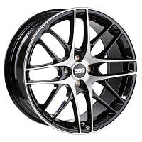BBS CS 4 R18 W8 PCD4x98 ET38 DIA70.0 Black Diamond-Cut