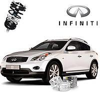 Автобаферы ТТС для Infiniti EX25 (2 штуки)