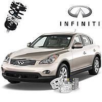 Автобаферы ТТС для Infiniti EX35 (2 штуки)