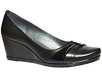 Женские кожаные туфли Украина