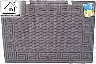 Коврик тканевый 60*40 (серый) К13