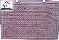 Коврик тканевый Лист 60*40 (коричневый) К13