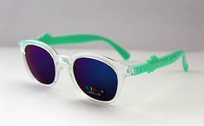 Трендовые детские прямоугольные солнцезащитные очки, фото 3