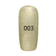 Гель-лак FOX Platinum № 003 (золотистый с шиммером),6 мл