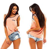 Женская Майка-блузка в наличии 5 цветов,размеры 42-48