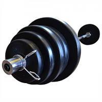 Штанга олимпийская композитная Newt Rock Pro 1,8 м, 62 кг (NE-PL-OL-062-180)