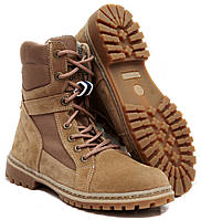 Берцы женские (Берці, Берци) Ботинки тактические высокие БЕЖ