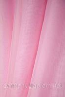 Шифон однотонный Розовый