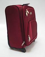 Чемодан ручная кладь для Wizz Air 42х31х22 см бордовый
