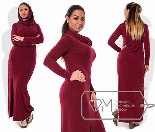 Батальное платье в пол, фото 2