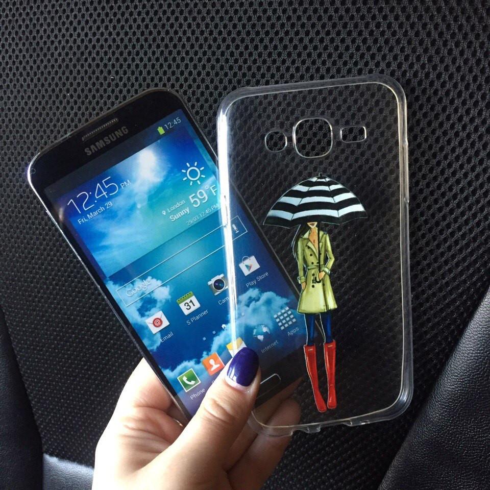 Чехлы силиконовые с картинкой для Samsung Galaxy A3 2015 (A300h)