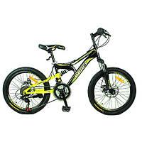 """Спортивный двухколесный велосипед Profi 20"""" (G20DAMPER S20.3) с рамой 12 дюймов"""