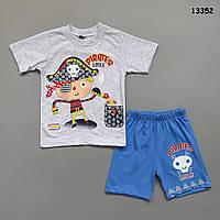 """Летний костюм """"Пират"""" для мальчика. 2-3; 3-4; 4-5; 5-6 лет"""