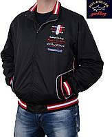 Куртка мужская Paul Shark , черная.Качественная мужская ветровка весна-осень.