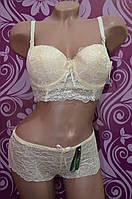 Женское нижнее белье Lu Lo La,комплект бюстье