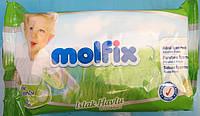 Влажные децкие салфетки molfix 62шт