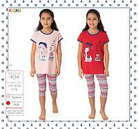 Детская летняя пижама для девочки