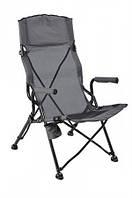 Раскладное кресло для отдыха на природе ТЕ-19 SD, стальной каркас, полиэстер, чехол с ручкой, до 110 кг