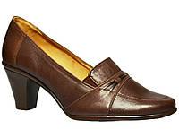 Женские кожаные туфли Польша