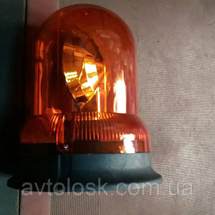 Мигалка врезная галогеновая 12 вольт и 24 вольта.Оранжевая.