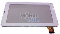 Сенсорный экран (тачскрин) для планшета 7 дюймов GOCLEVER TAB R70 с вырезом под динамик (Model: PINGBO PB70A8508) White