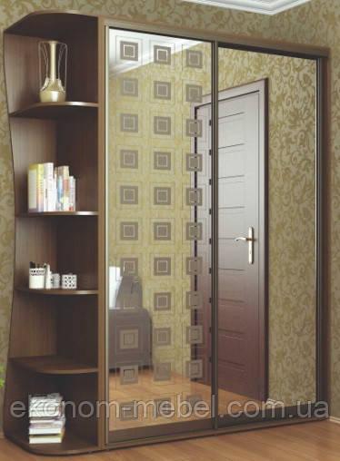 Шкаф купе ширина 2000мм, глубина 450мм, высота 2400мм, для спальни. Одесса