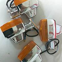 Повороты Дельта,Альфа прямоугольные хром, фото 1