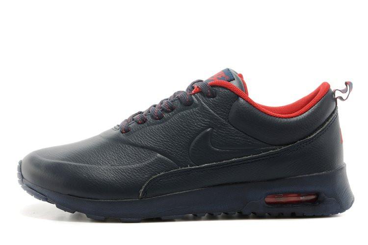 Мужские кроссовки Nike Air MaxThea Leather Dark Blue, фото 1