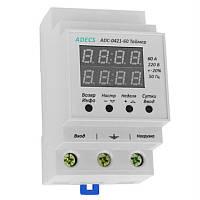 Таймер ADECS ADC-0421-60 (недельный/суточный цикл, шаг-1 сек., 60А) Реле времени