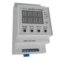 Таймер ADECS ADC-0421-15 (недельный/суточный цикл, шаг-1 сек., 15А) Реле времени
