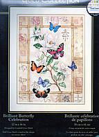 Dimensions Набор для вышивки крестом Brilliant Butterfly Celebration Торжество сверкающих бабочек 35063