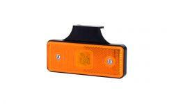 Габаритно - контурный фонарь HOR 42, оранжевый, с диодом LED, отражателем  и с кронштейном, 12/24 V, 0,5 м кабель