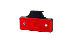 Габаритно - контурный фонарь HOR 42, красный, с диодом LED, отражателем  и с кронштейном, 12/24 V, 0,5 м кабель