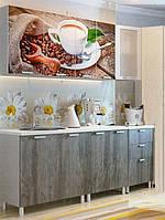Кухня Кофе ,ф-ка SV Мебель (1,8 м)без глянца