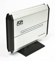 Внешние карманы для HDD Agestar 3UB 3A5 (Silver)
